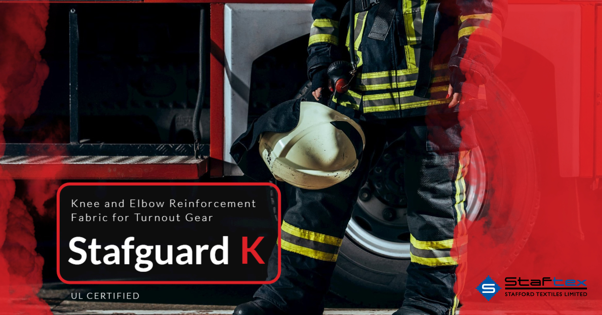Stafguard K® – Knee and Elbow Reinforcement Fabric for Turnout Gear – UL Certified