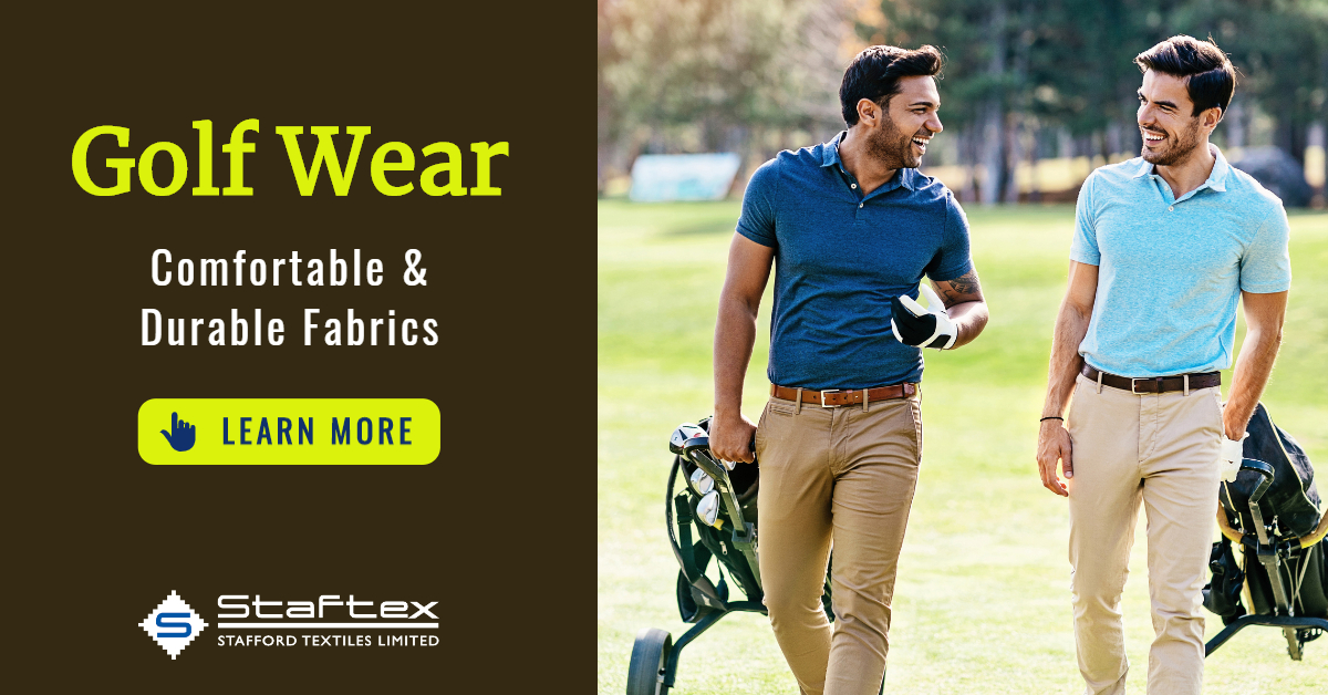 Golf Wear from Stafford Textiles