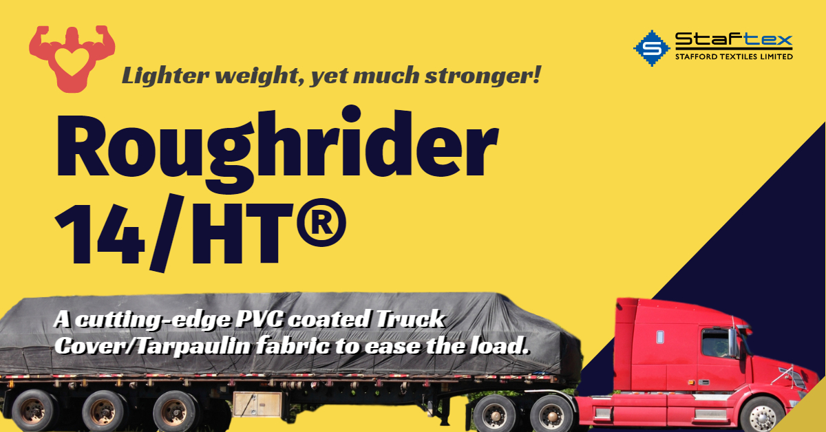Roughrider 14/HT® Truck Tarp from Stafford Textiles